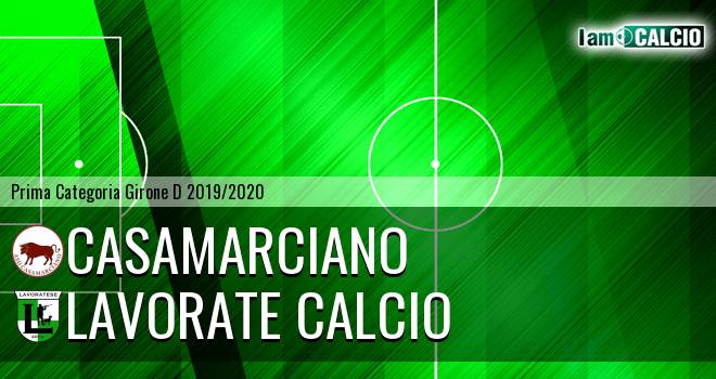 Casamarciano - Lavorate Calcio