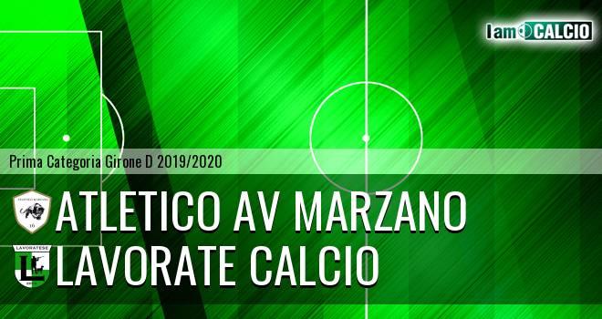Atletico AV Marzano - Lavorate Calcio