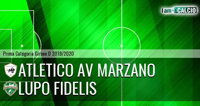 Atletico AV Marzano - Lupo Fidelis