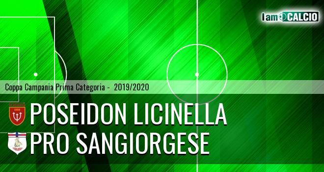 Poseidon Licinella - Pro Sangiorgese