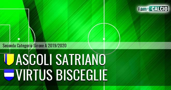Ascoli Satriano - Virtus Bisceglie