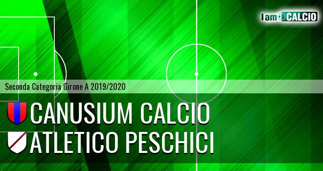 Canusium Calcio - Atletico Peschici