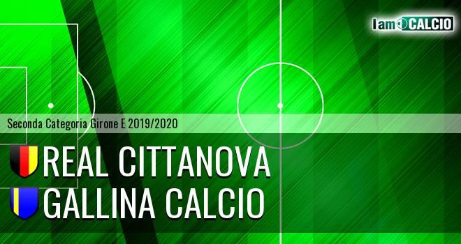 Real Cittanova - Gallina Calcio
