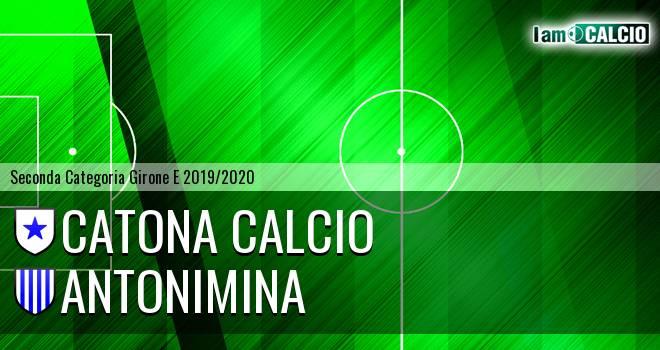 Catona Calcio - Antonimina