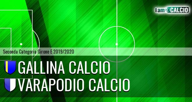 Gallina Calcio - Varapodio Calcio