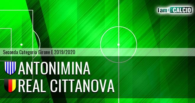 Antonimina - Real Cittanova