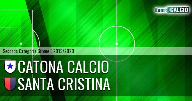 Catona Calcio - Santa Cristina