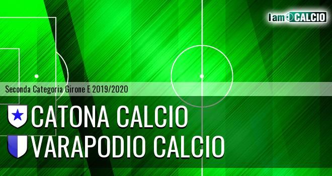 Catona Calcio - Varapodio Calcio