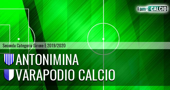 Antonimina - Varapodio Calcio