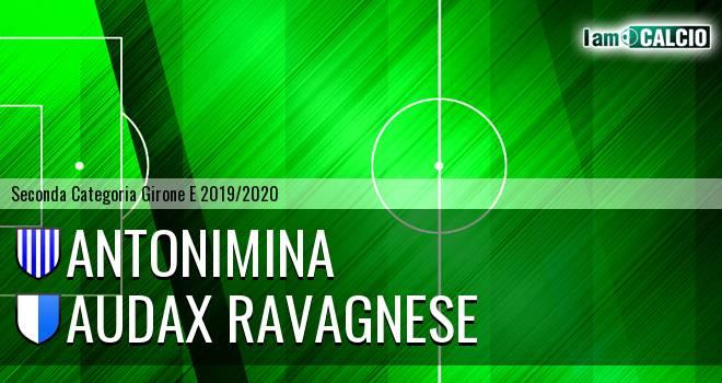 Antonimina - Audax Ravagnese