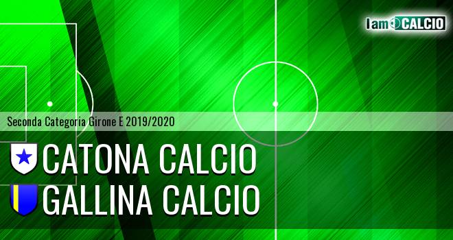 Catona Calcio - Gallina Calcio