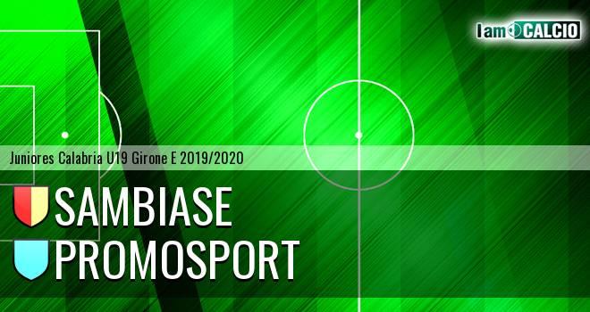 Sambiase - Promosport