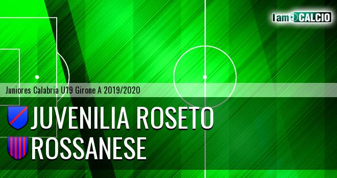 Juvenilia Roseto - Rossanese