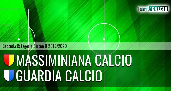 Massiminiana Calcio - Guardia Calcio