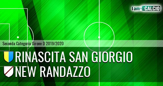 Rinascita San Giorgio - New Randazzo