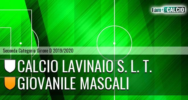 Calcio Lavinaio S. L. T. - Giovanile Mascali