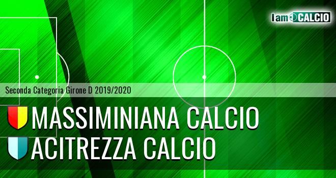 Massiminiana Calcio - Acitrezza Calcio