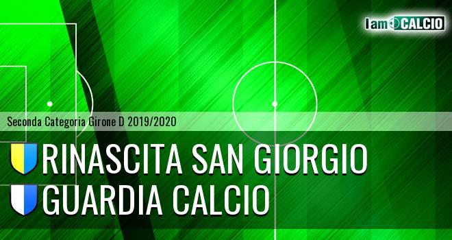 Rinascita San Giorgio - Guardia Calcio
