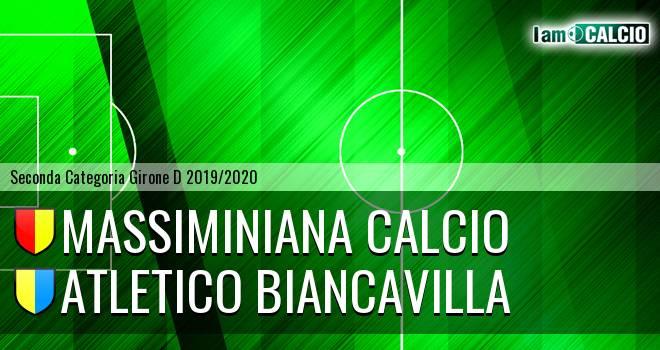 Massiminiana Calcio - Atletico Biancavilla