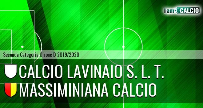 Calcio Lavinaio S. L. T. - Massiminiana Calcio