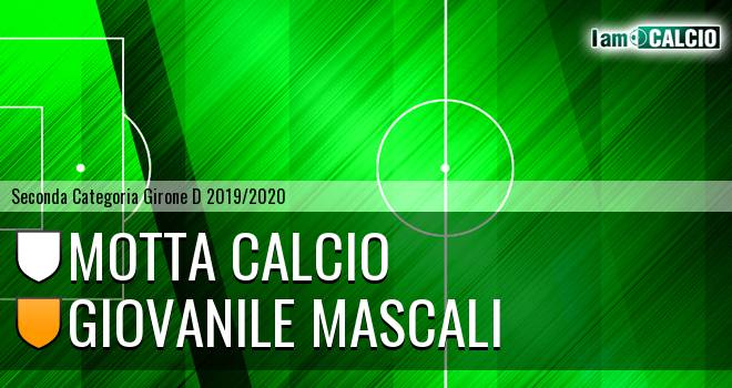 Motta Calcio - Giovanile Mascali