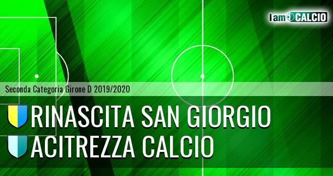 Rinascita San Giorgio - Acitrezza Calcio