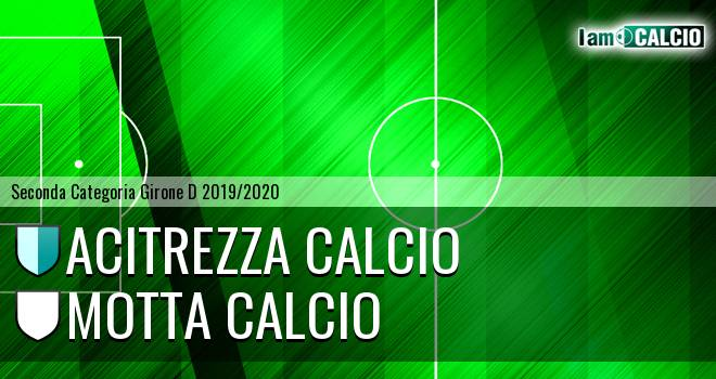 Acitrezza Calcio - Motta Calcio