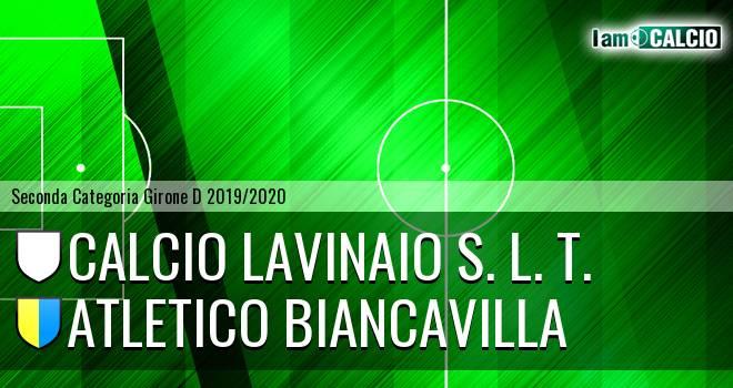 Calcio Lavinaio S. L. T. - Atletico Biancavilla