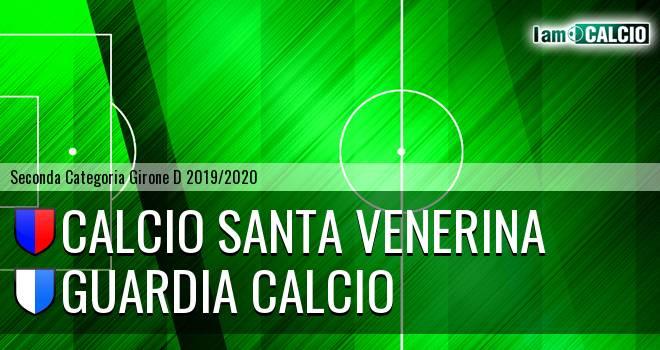 Calcio Santa Venerina - Guardia Calcio