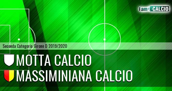 Motta Calcio - Massiminiana Calcio