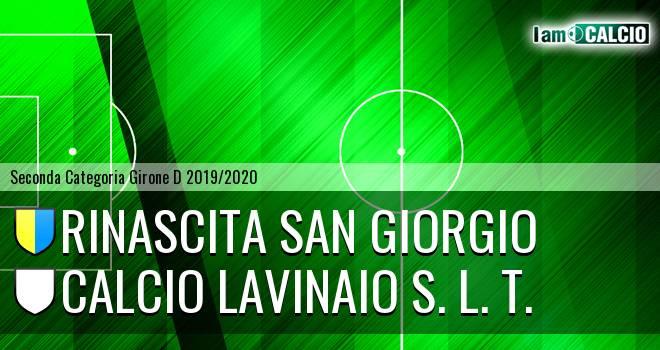 Rinascita San Giorgio - Calcio Lavinaio S. L. T.