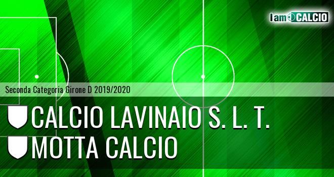 Calcio Lavinaio S. L. T. - Motta Calcio
