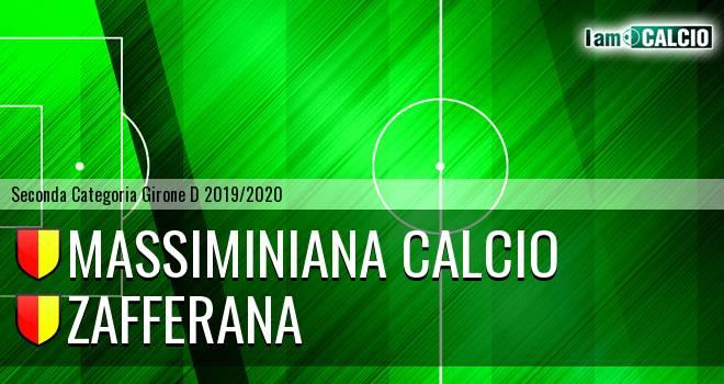 Massiminiana Calcio - Zafferana