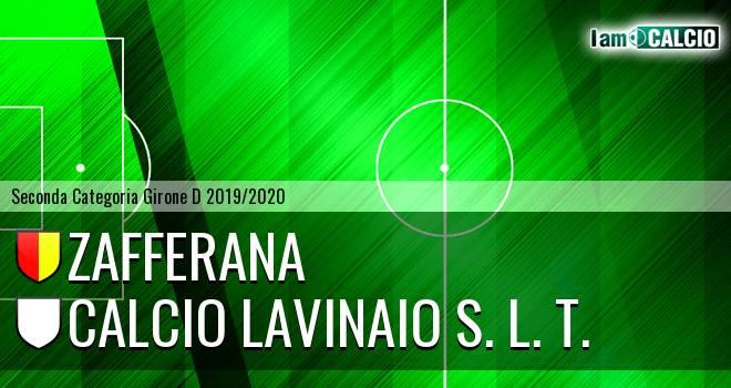Zafferana - Calcio Lavinaio S. L. T.
