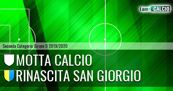 Motta Calcio - Rinascita San Giorgio