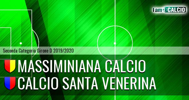 Massiminiana Calcio - Calcio Santa Venerina