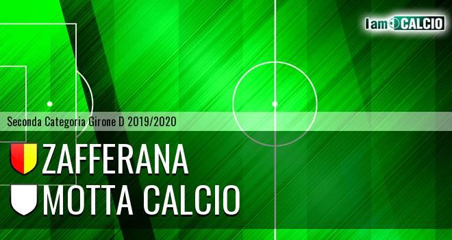 Zafferana - Motta Calcio