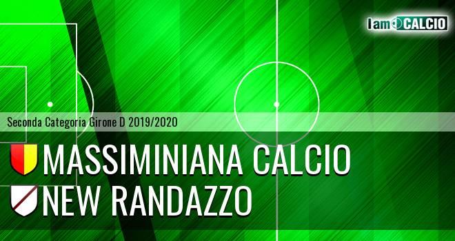 Massiminiana Calcio - New Randazzo