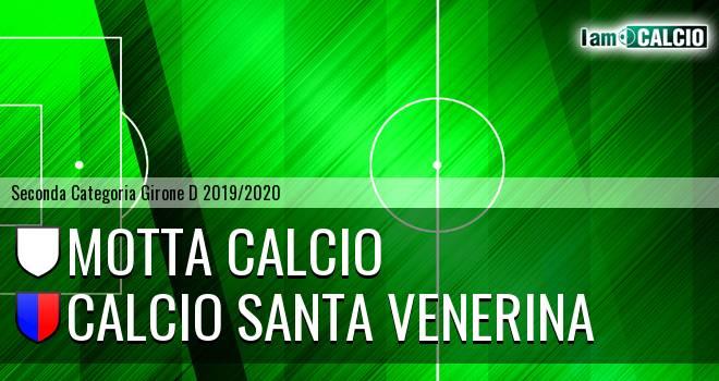 Motta Calcio - Calcio Santa Venerina