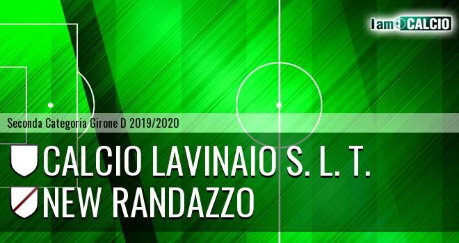 Calcio Lavinaio S. L. T. - New Randazzo