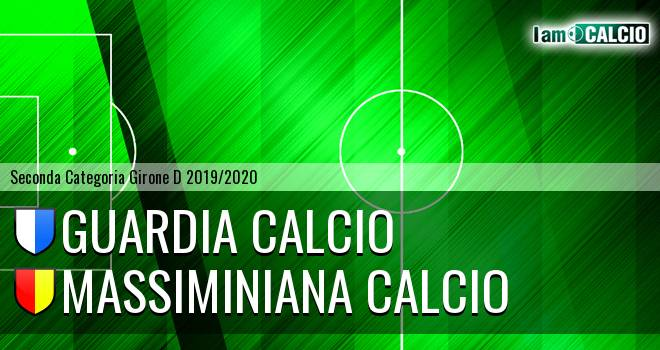 Guardia Calcio - Massiminiana Calcio