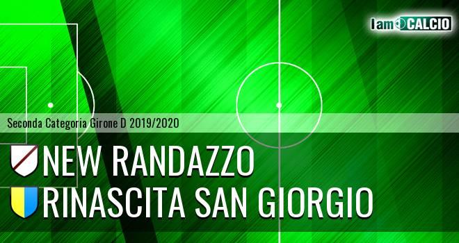 New Randazzo - Rinascita San Giorgio