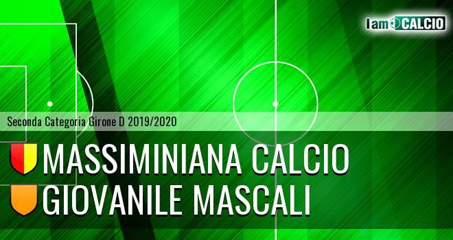 Massiminiana Calcio - Giovanile Mascali