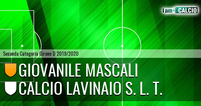 Giovanile Mascali - Calcio Lavinaio S. L. T.