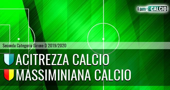 Acitrezza Calcio - Massiminiana Calcio