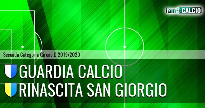 Guardia Calcio - Rinascita San Giorgio