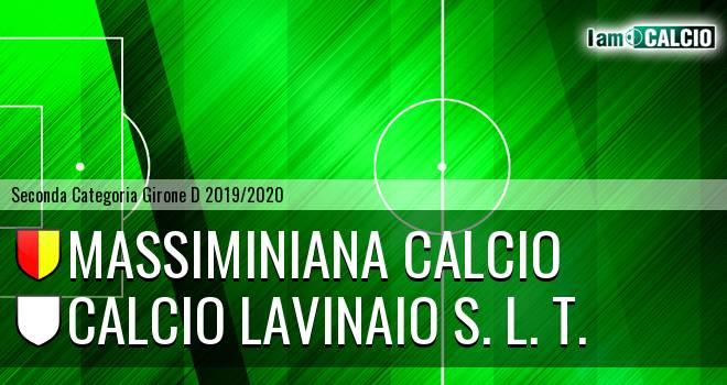 Massiminiana Calcio - Calcio Lavinaio S. L. T.
