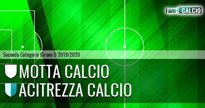 Motta Calcio - Acitrezza Calcio