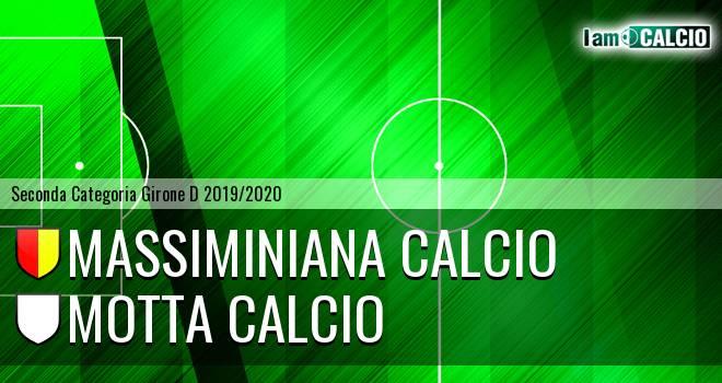 Massiminiana Calcio - Motta Calcio
