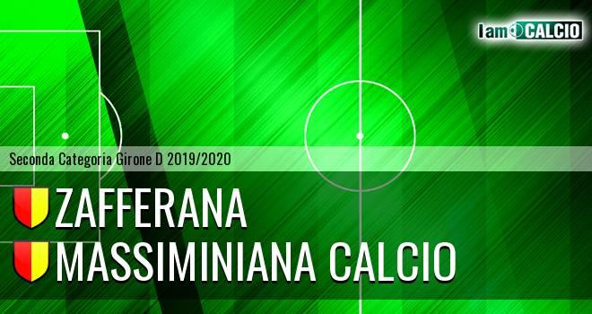 Zafferana - Massiminiana Calcio